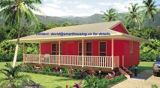China Casas de planta baja caseras a prueba de humedad de la playa, casa de planta baja de madera incombustible de la casa proveedor