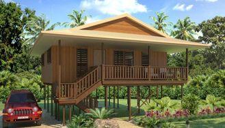 China Casa de planta baja de madera de la casa de Tailandia de los días de fiesta, casas de planta baja de la playa de Samui de la KOH proveedor