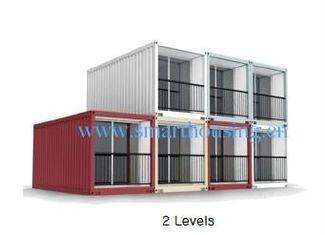 China El envase prefabricado modular del ISO 40HQ se dirige, los hogares a prueba de agua de los contenedores proveedor