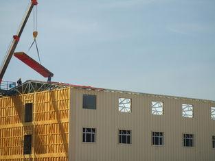 China Las construcciones de viviendas prefabricadas acero ligero, nieve resisten la casa portátil proveedor
