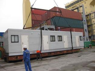 China El arquitecto diseñó casas modulares/el tabernáculo modular ancho de acero de la luz proveedor