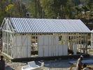 China Casas modulares amarillas/equipos prefabricados de la casa del marco de acero de la luz para vivir fábrica