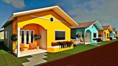 China La casa de planta baja prefabricada del diseño profesional se dirige pequeñas casas modulares modernas distribuidor