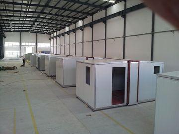 China Refugio de la emergencia/vivienda del Después-Desastre/vivienda portátiles plegables de alta calidad del panel de bocadillo distribuidor