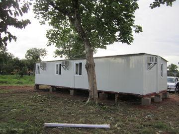China Refugio portátil blanco/del amarillo de la emergencia para los refugios de la familia, refugios temporales distribuidor