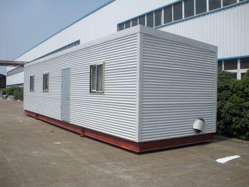 China Altas casas modulares de la cabaña de madera de Eco del aislamiento, hogares modulares prefabricados verdes del registro distribuidor