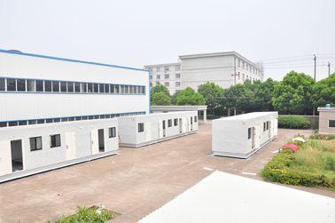 China Casas modulares prefabricadas acabadas el 100% para la oficina, para el dormitorio distribuidor