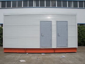 China Casas modulares prefabricadas multifuncionales del marco de acero para el retrete/la oficina móviles distribuidor