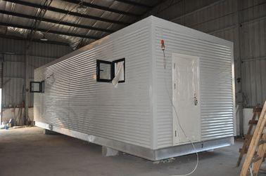 China Casas modulares prefabricadas del marco de acero, casa de guardia móvil para la vida de la gente distribuidor