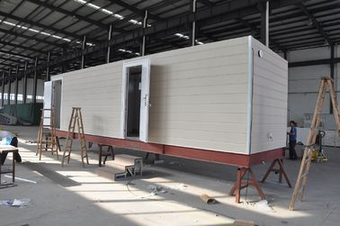 China Casa móvil prefabricada de la cabina/casas modulares prefabricadas del marco de acero para la casa de guardia distribuidor