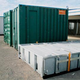 China Mini casa movible del envase, casas modulares completamente acabadas del contenedor de almacenamiento distribuidor
