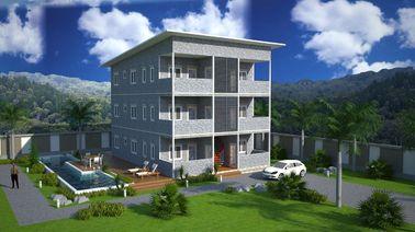 Construcciones de viviendas prefabricadas de la estructura de acero de SOHO, apartamentos prefabricados
