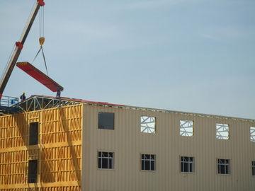 China Las construcciones de viviendas prefabricadas acero ligero, nieve resisten la casa portátil distribuidor