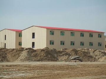 Edificios comerciales prefabricados del bajo costo/edificio prefabricado del metal de Saveing de la energía