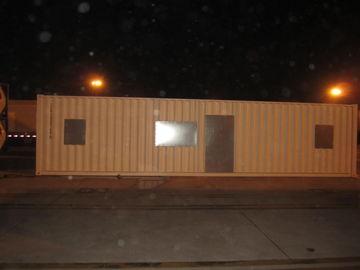 China Casas modulares modernas del Después-Desastre amplio, equipos de acero ligeros de la casa modular distribuidor