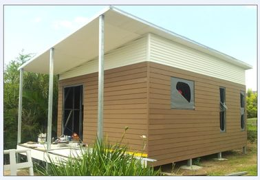 China Casa plana/plegable de la abuelita australiana ligera de la estructura de acero con el peso ligero distribuidor