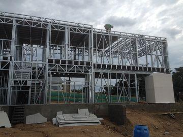 China Rápidos modernos instalan la casa prefabricada, metal prefabricado conteniendo los módulos distribuidor